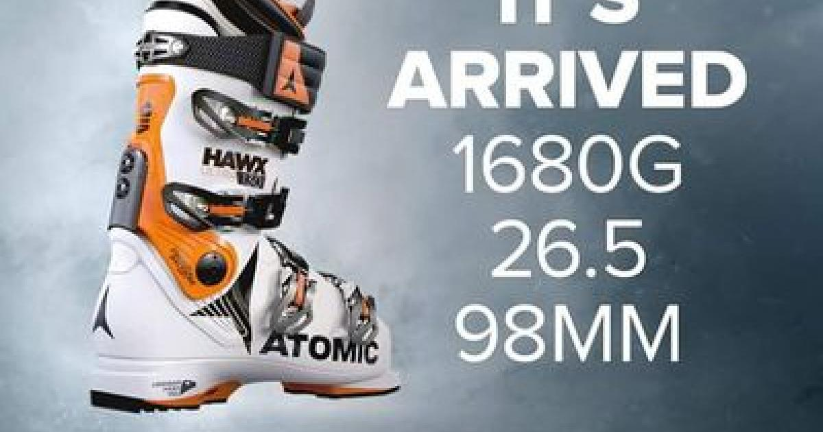 online retailer af7bd 2fb11 Atomic Hawx Ultra Ski Boot Review | EpicTV