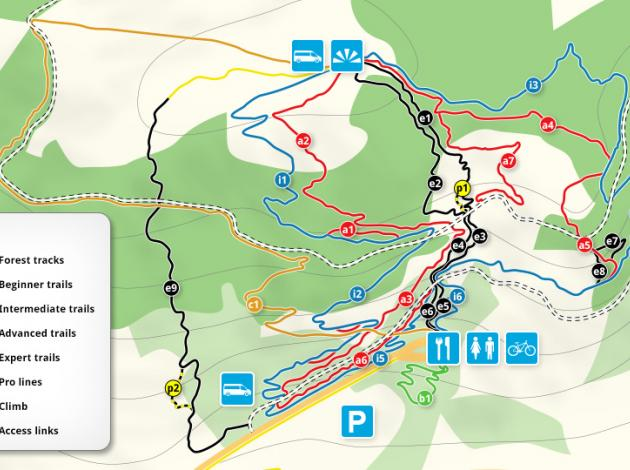 Bike Park Wales Map Bike Park Wales Map | EpicTV