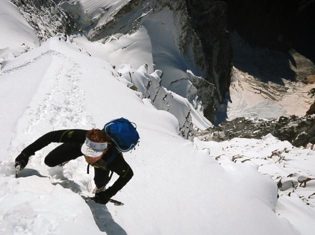 Ueli Steck in his new '82 Summits' film.