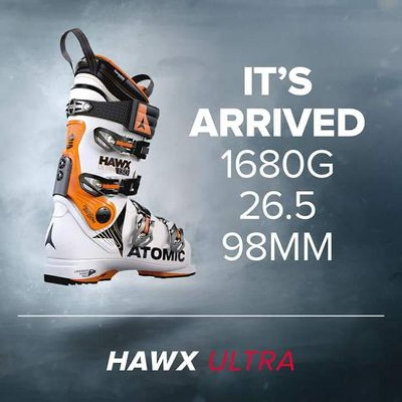 online retailer 40e17 dc9b2 Atomic Hawx Ultra Ski Boot Review | EpicTV